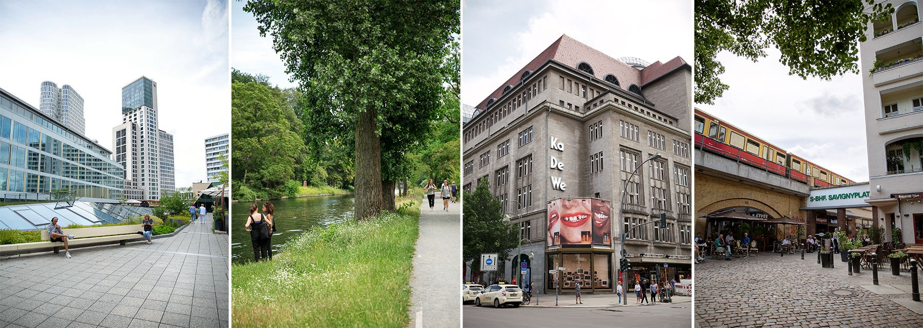 Exploring Berlin's City West on foot